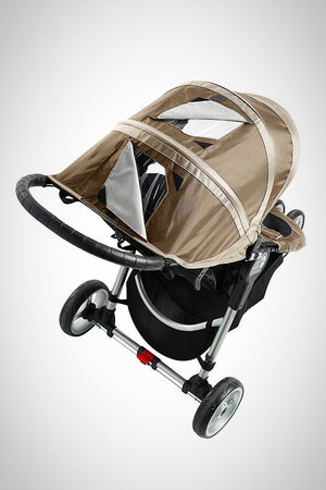 3 Wheels Single Baby Stroller - orca care