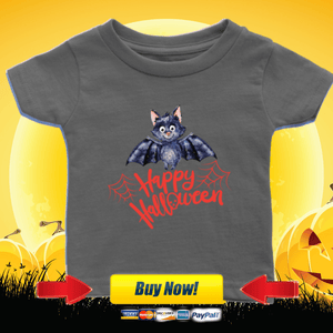 Happy Halloween Bat - Shirt - orca care