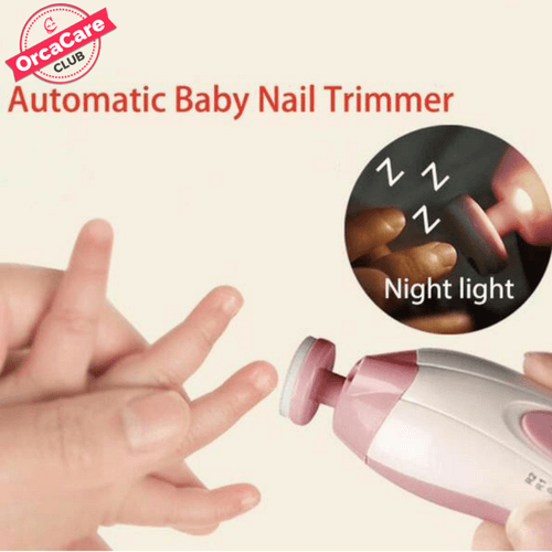 Safe Electric Nail Clipper & Trimmer