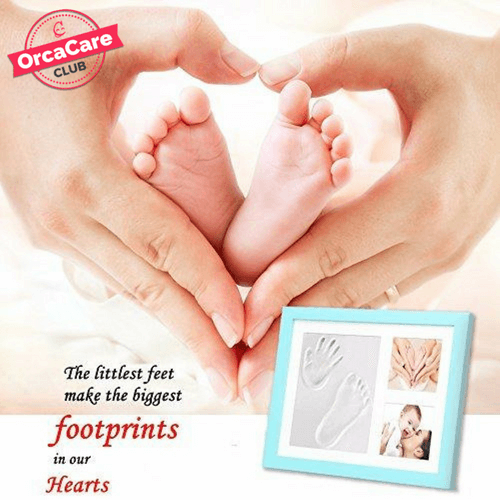Newborn Hand & Footprint Kit & Frame - orca care