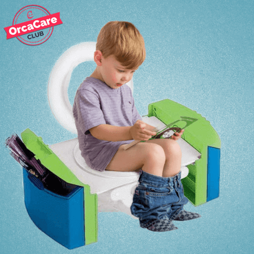 Portable Kids Travel Potty Seat - orca care