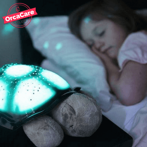 Twilight Starry Night Light Turtle - orca care
