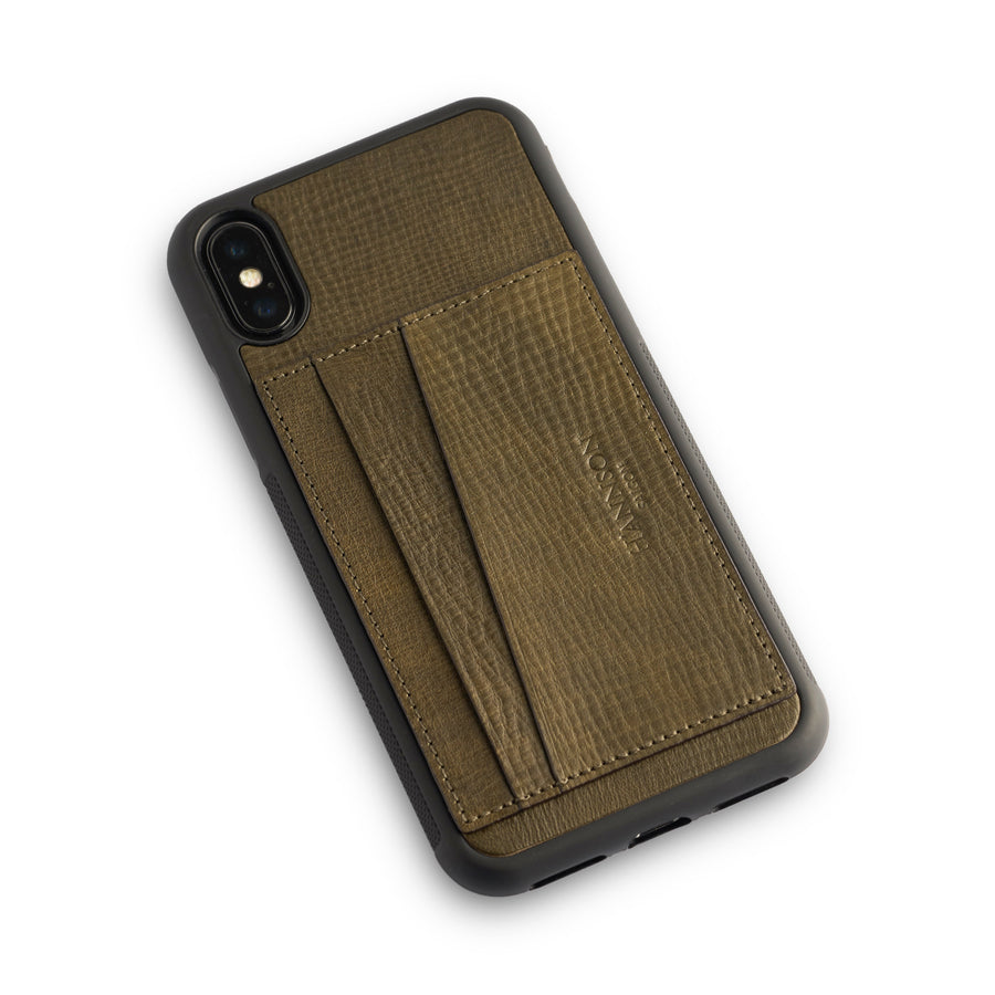 Card Holder Iphone Case Moss