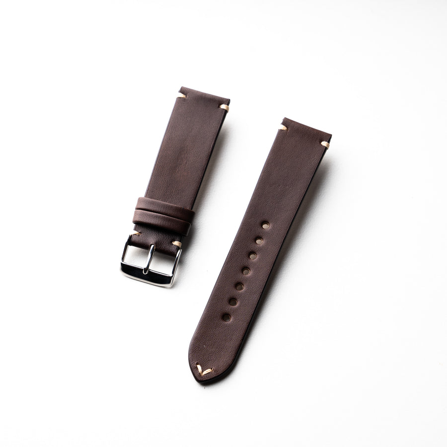 Dây Simple Strap Veg Tan Nâu Chocolate