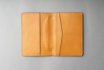 Passport Cover Veg Tan - Tan