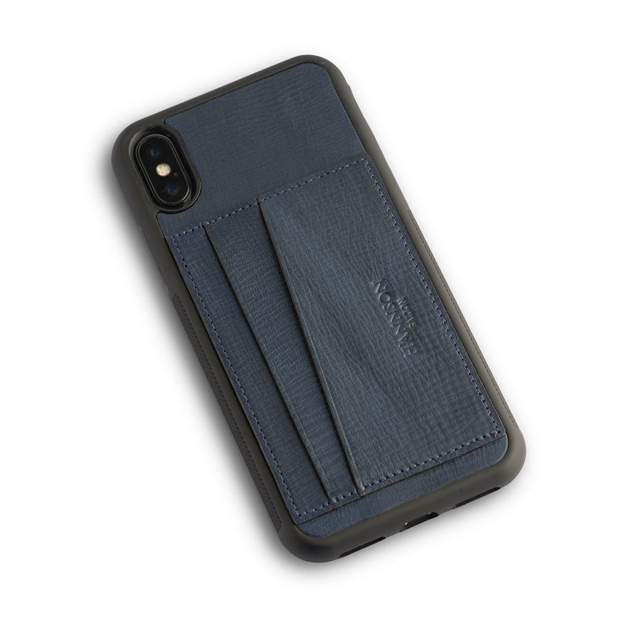 Card Holder Iphone Case Navy