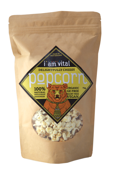 Delightfully Cheesy Popcorn