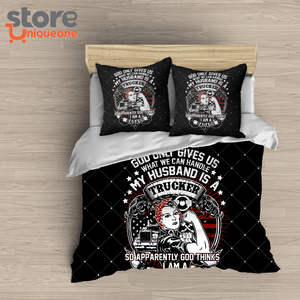 Trucker Driver 2 Combo Blanket & 2pillows cover