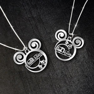 $69 For 2 Stunning Necklaces: Camping Car Calling Necklace