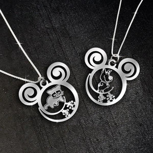 $69 For 2 Stunning Necklaces: Grumpy & Scooby-Doo