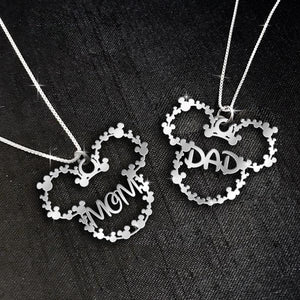 $69 For 2 Stunning Necklaces: Mom and Dad