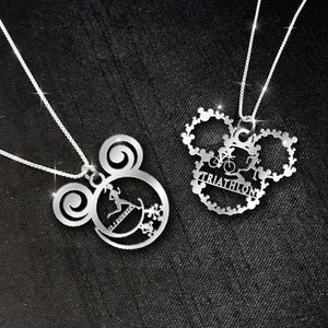 $69 For 2 Stunning Necklaces Triathlon vs 13.1 runner
