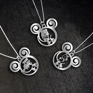 $99.99 For 3 Stunning Necklaces: Grumpy, Scooby-Doo, Pooh