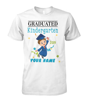 Graduation boy custom name - Graduation boy custom name T-Shirt