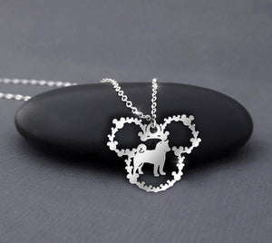 Akita - Dog Breeds Mickey Mouse Necklace