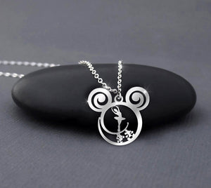 Ballet Disney Calling Necklace