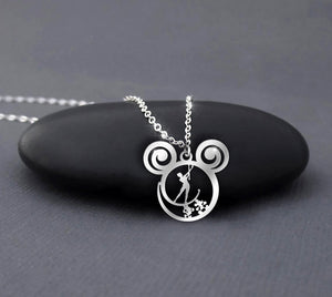 Baton Twirling Disney Calling necklace