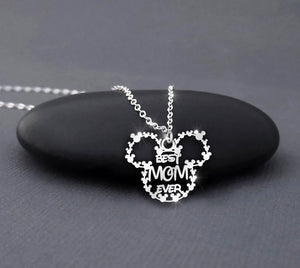 Best Mom Ever Handmade Sterling Silver Necklace