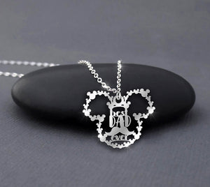 Best Dad Ever - Father's Day MK Necklace