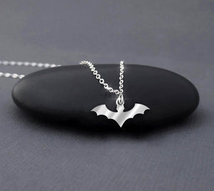 Blood Claws Halloween Silver Necklace