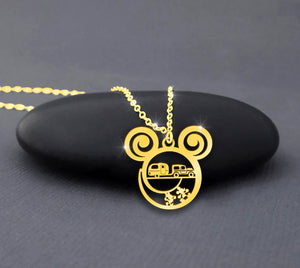 Camping Car - Camping Calling Necklace