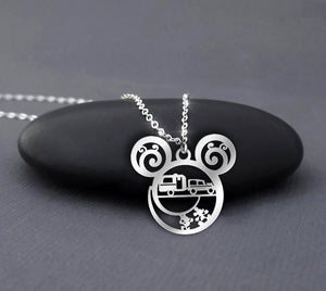 Camping Car - Disney Pattern Necklace