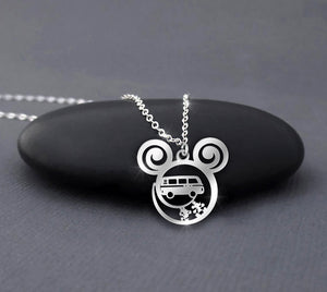 Camping Car - Car Collection Calling Necklace
