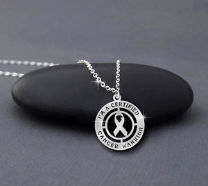 Certified Warrior Cancer Necklace
