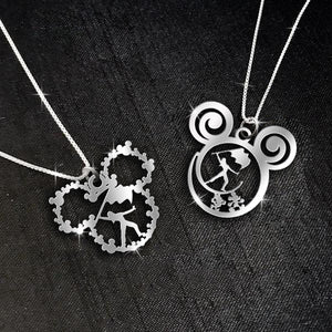 $69 For 2 Stunning Necklaces: Color Guard Calling and Mickey Mouse