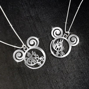 $69 For 2 Stunning Necklaces: Combo Castle DN Travel