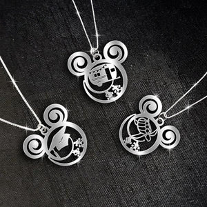 $99.99 For 3 Stunning Necklaces: Combo Graducation and Camper Car and Turtle