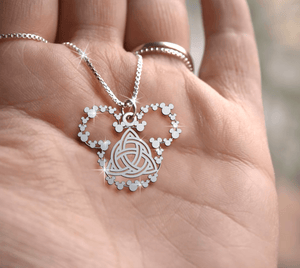 Celtic Knot Handmade Sterling Silver Necklace