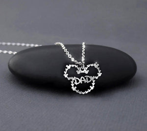 Dad - Disney Mickey Mouse Necklace
