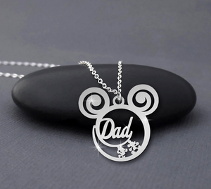 Dad is calling necklace