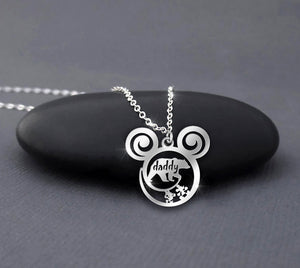Daddy Bear - Disney Calling Necklace