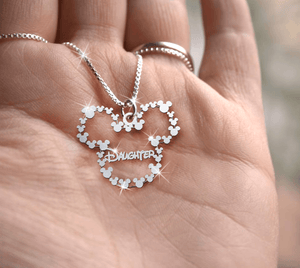Daughter Handmade Sterling Silver Necklace