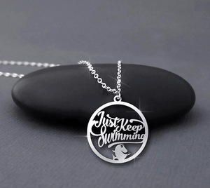 Keep Swimming Necklace