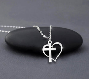 God Heart - Jesus Necklace