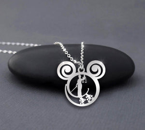 Goddess of Justice is Calling Necklace