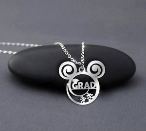 Grad - Graduation Calling Necklace