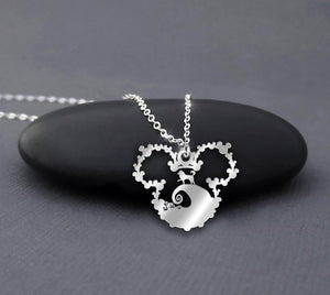 Halloween Moonlight Sterling Silver Necklace