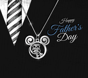 Happy Father's Day is Calling Necklace