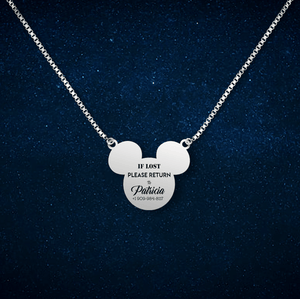 If lost mickey necklace