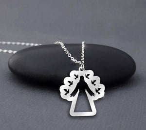 Jesus Christ 925 Sterling Silver Necklace