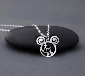 Jog with my dog - Running Calling Necklace