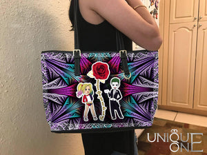 Joker and Harley Quinn toe bag