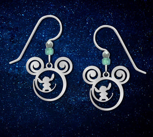 Lilo and Stitch Disney is Calling Earrings