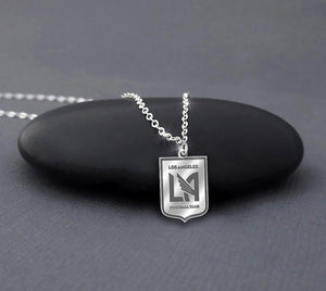 Los Angeles FC Sterling Silver Necklace
