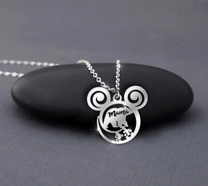 Mama Bear Calling Necklace