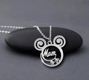 Mom is calling necklace